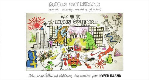 Robbin Waldemar<br /> http://robbinwaldemar.com/