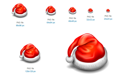 Hat Icon<br /> http://www.softicons.com/free-icons/holidays-icons/christmas-2010-icons-by-iconshock/hat-icon