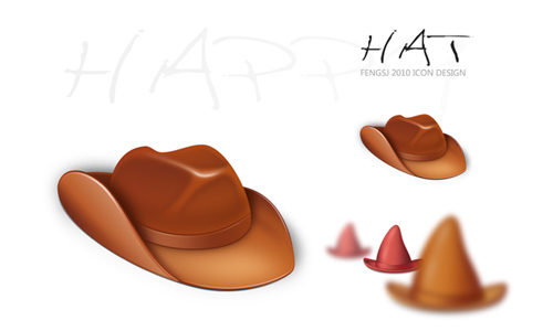 Hat Icon<br /> http://fengsj.deviantart.com/art/Hat-Icon-188556533