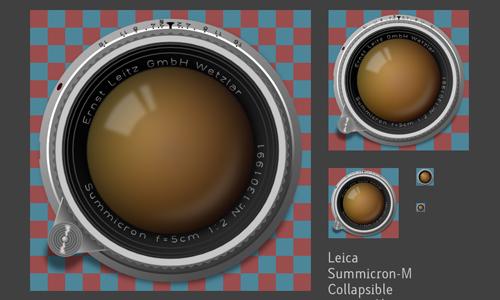 SUMMICRON-M50毫米的可折叠<br /> http://xikeru.deviantart.com/art/Summicron-M-50mm-Collapsible-251527051
