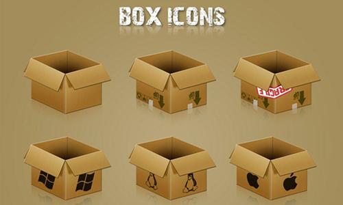 Box Icons<br /> http://miffo.deviantart.com/art/Box-Icons-60962192