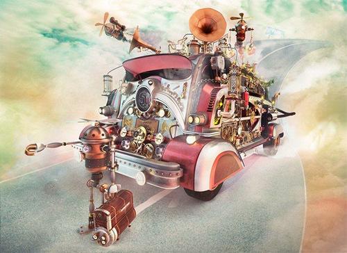 Making of Steampunk Faith<br /> http://www.cgarena.com/freestuff/tutorials/max/steampunk-faith/steampunk.html