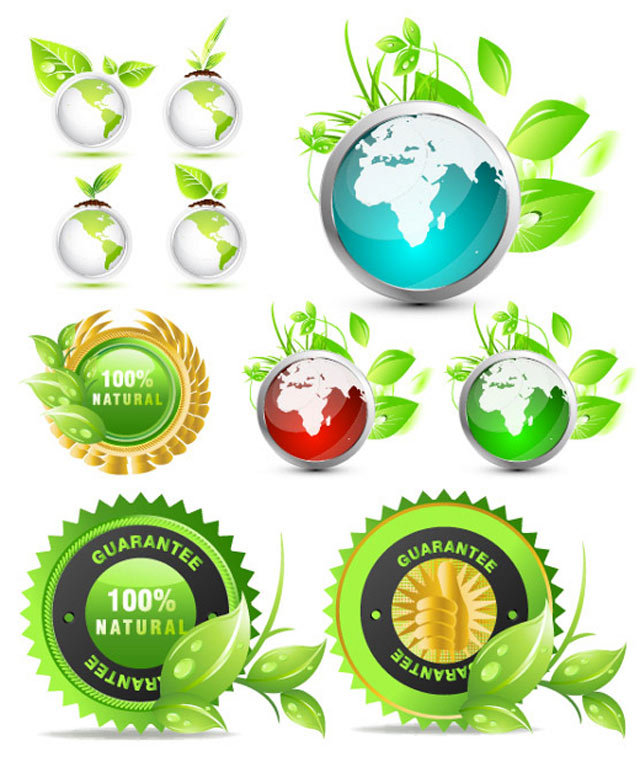 Vector Ecology Globes<br /> http://www.vectorilla.com/2010/04/vector-ecology-globes/