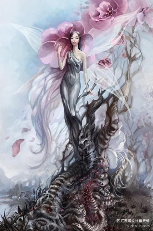 树仙<br /> http://any-s-kill.deviantart.com/art/Tree-Fairy-135780491