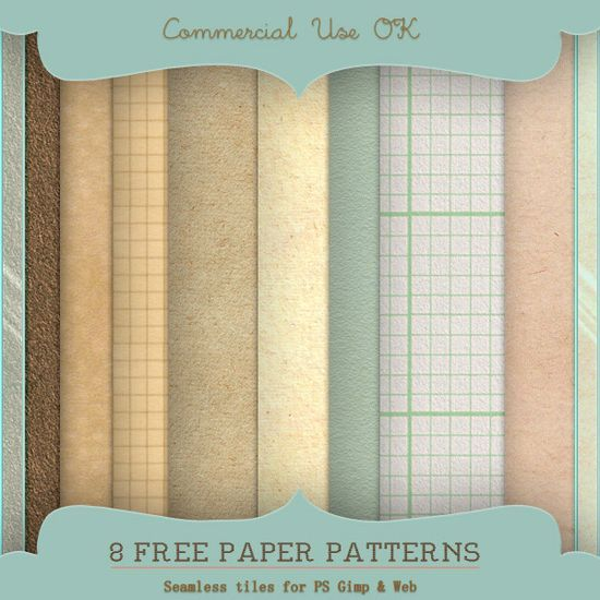 Paper Patterns for PS and Gimp<br /> http://starsunflowerstudio.deviantart.com/art/Paper-Patterns-for-PS-and-Gimp-211361252