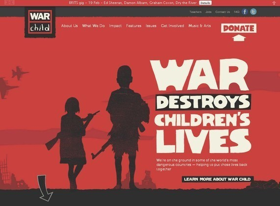 War Child<br /> http://www.warchild.org.uk/