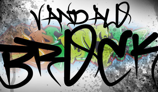 Brock Vandalo<br /> http://www.dafont.com/brock-vandalo.font