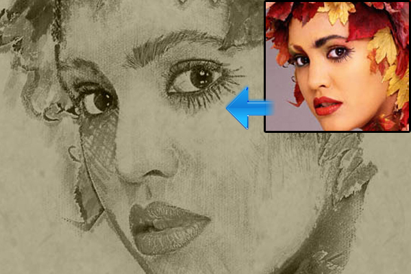 相片素描 http://designwannabe.com/2010/09/convert-photo-to-sketch-drawing-photoshop-tutorial/