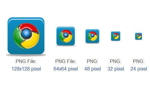 Chrome Icon<br /> http://www.iconarchive.com/show/pretty-social-media-icons-by-custom-icon-design/chrome-icon.html