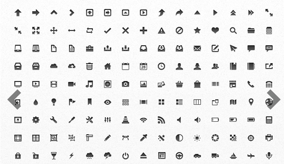 Free Mini Vector App Icons<br /> http://medialoot.com/item/free-mini-vector-app-icons/