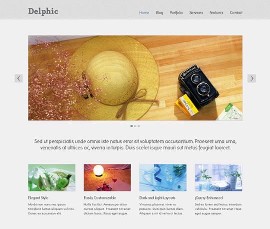 Demo:<br /> http://elemisdesign.com/demos/delphic-dark/<br /> Download:<br /> http://elemisfreebies.com/04/10/delphic-dark-free-html-template/