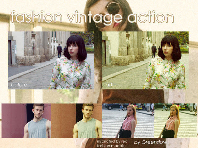 Fashion Vintage Action<br /> http://greenslow.deviantart.com/art/Fashion-vintage-action-307467344