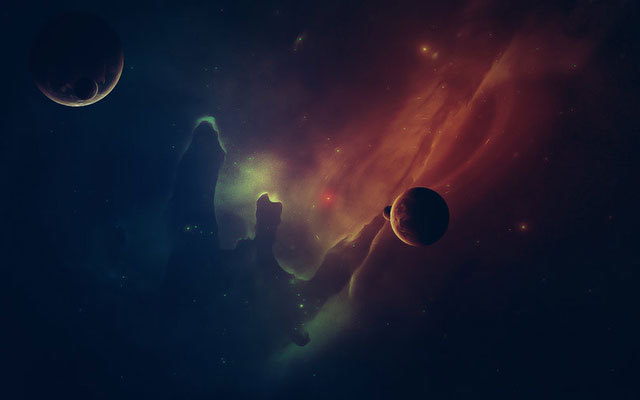 Out in Space<br /> http://razmotekk.deviantart.com/art/Out-in-Space-349028000