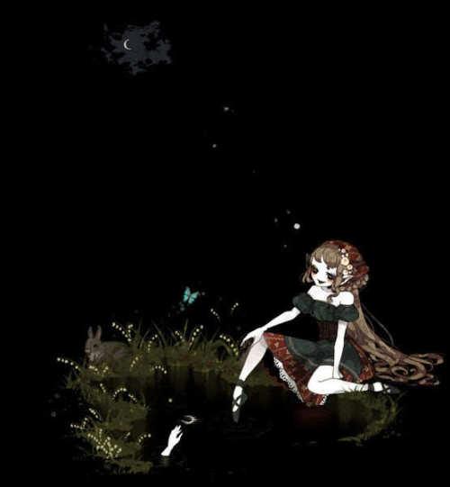 日本插画 しきみ-华丽傀儡(2)