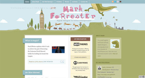 Mark Forrester<br /> http://www.markforrester.co.za/