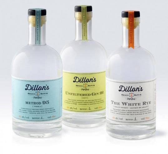 狄龙的小批量蒸馏<br /> http://lovelypackage.com/dillons-small-batch-distillers/