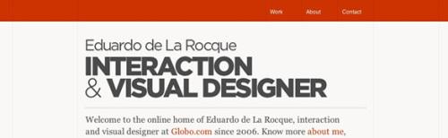 56个使用最低限度的配色方案的简洁干净的网站设计(1)