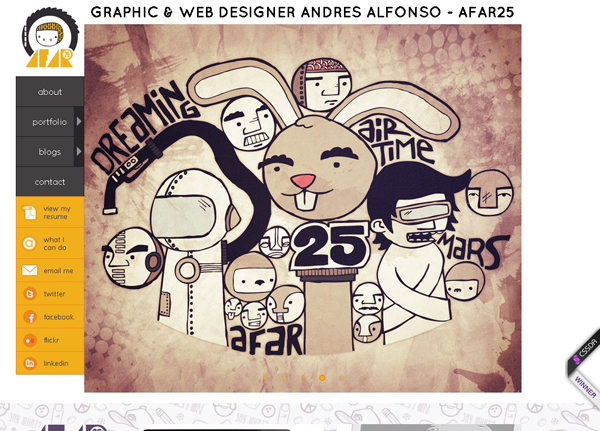 ANDRES ALFONSO<br /> http://afar25.com/
