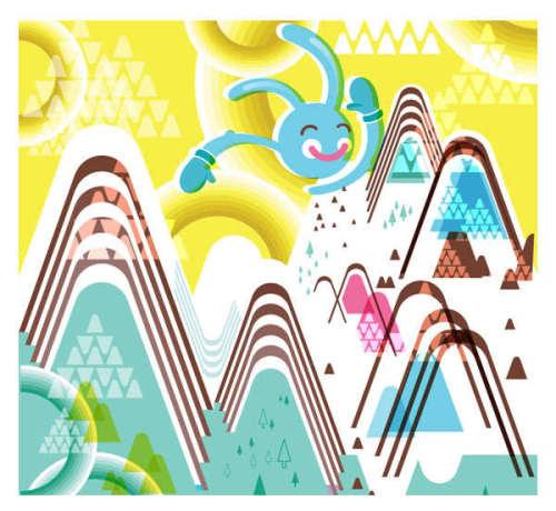 矢量插画设计 - 矢量灵感收集