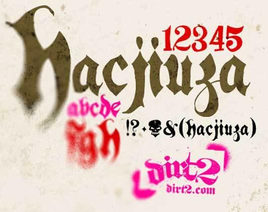 Hacjiuza – Free Font<br /> http://keepwaiting.deviantart.com/art/Hacjiuza-Free-Font-138507955?q=boost%3Apopular%20hand-drawn%20Fonts&qo=1