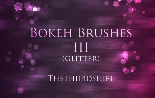 背景虚化的画笔III<br /> http://thethiirdshift.deviantart.com/art/Bokeh-Brushes-III-204012961