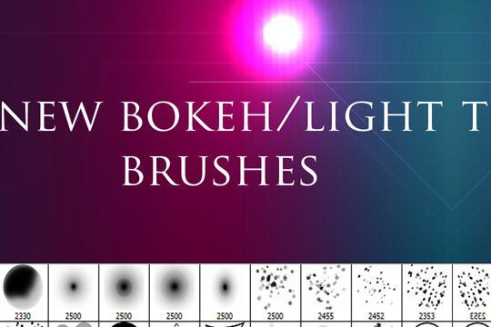 背景虚化效果Photoshop笔刷<br /> http://vectorartillustrations.com/photoshop-brushes/bokeh-effect-photoshop-brushes/
