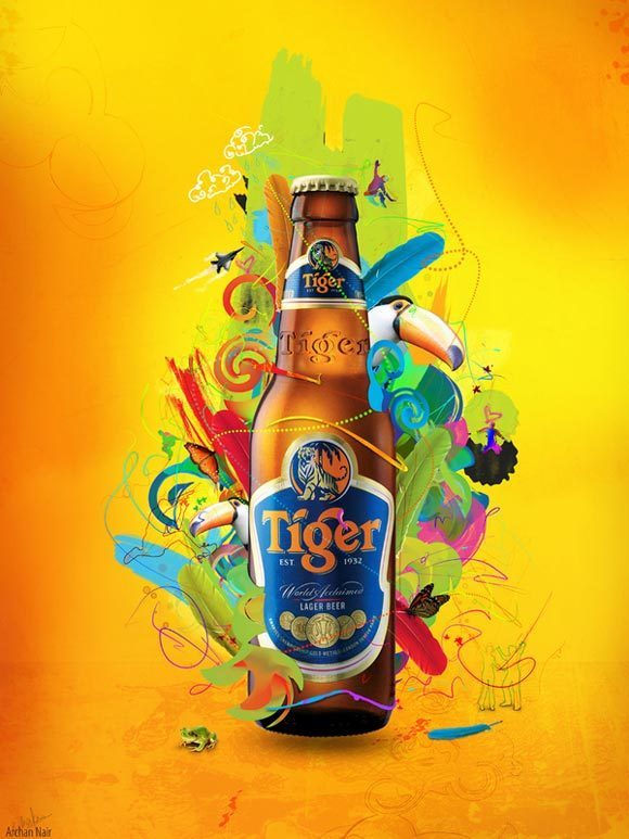 Tiger Beer-Energy<br /> http://www.behance.net/Gallery/Tiger-Beer--Energy/122540