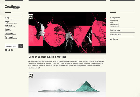 Demo:<br /> http://luiszuno.com/themes/zen/<br /> Download:<br /> http://luiszuno.com/blog/downloads/zen-template/