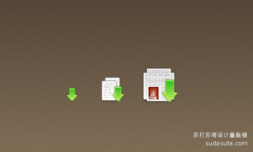 迷你下载图标<br /> http://nanaj.deviantart.com/art/Mini-Downloads-Icon-154841569