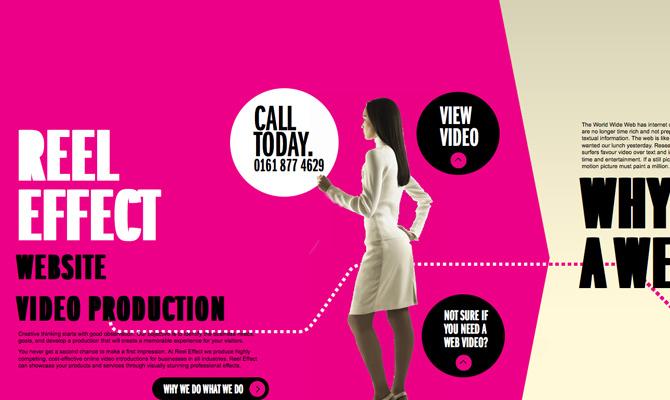 Web Video Production<br /> http://www.reeleffect.co.uk/