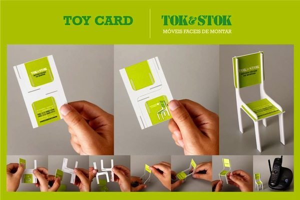 Furniture Manufacturer Business Card<br /> http://creativecriminals.com/direct-marketing/tokstok-business-card-vs-chair/