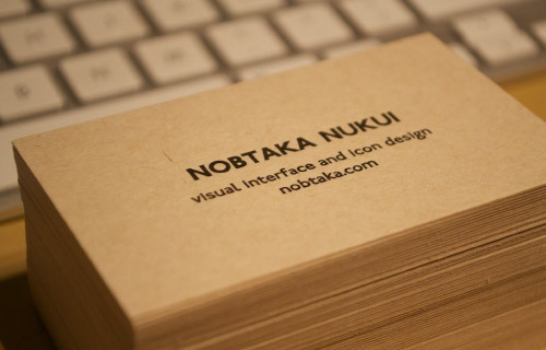 NOBTAKA NUKUI<br /> http://dribbble.com/shots/231915-New-personal-business-card