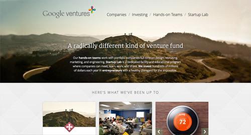 Google Ventures<br /> http://www.googleventures.com/