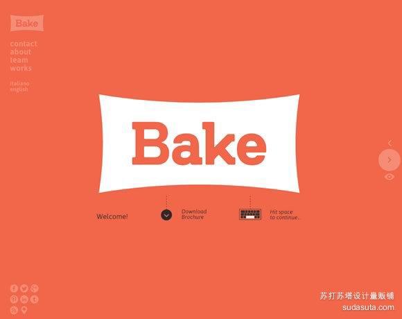 Bake<br /><br /> http://www.bakeagency.it/