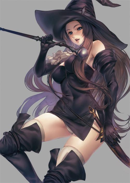 Witch<br /> http://simosi.deviantart.com/art/witch-176561148