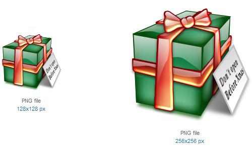 礼品图标<br /><br /> 16×16像素,24×24像素,32×32像素,48×48像素,64×64像素,72×72像素,96×96像素,128× 128像素和256×256像素<br /><br /> http://www.softicons.com/free-icons/holidays-icons/xtal-icons-by-jairo-boudewyn/gift-icon