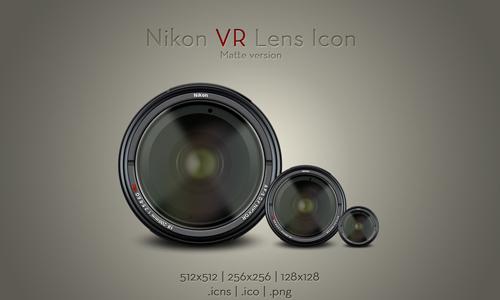 尼康VR镜头图标V1<br /> http://soundforge.deviantart.com/art/Nikon-VR-Lens-Icon-v1-172422744
