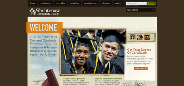 Washtenaw Community College<br /> http://www.wccnet.edu/