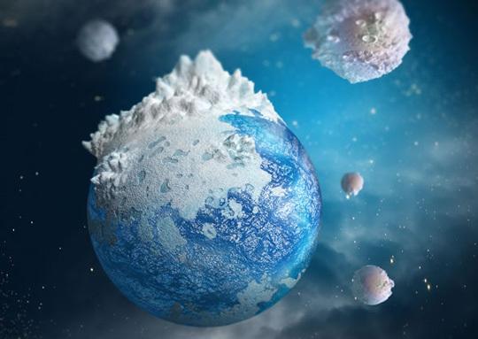 在photoshop用3D插件绘制小型星球<br /> http://psd.tutsplus.com/tutorials/3d/3d-mini-planet/