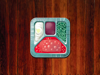 1960s TV Dinner http://dribbble.com/shots/791047-1960s-TV-Dinner