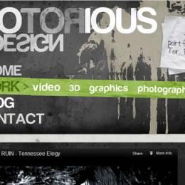20个创意排版网页设计欣赏