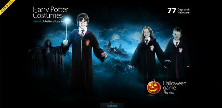 Harry Potter<br /> http://costumize.me/#/harry-potter