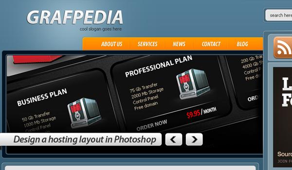 做出创造性的博客布局 http://psd.tutsplus.com/tutorials/interface-tutorials/how-to-make-a-creative-blog-layout/