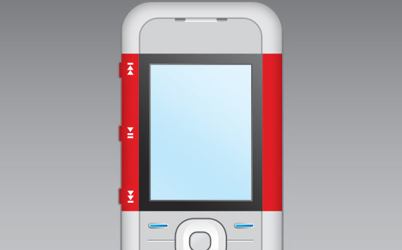 在photoshop中绘制诺基亚5300手机<br /> http://www.adobetutorialz.com/articles/2979/1/Nokia-5300-Cell-phone-interface<br />