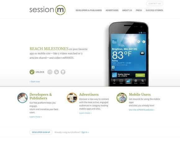 Session M<br /> http://www.sessionm.com/