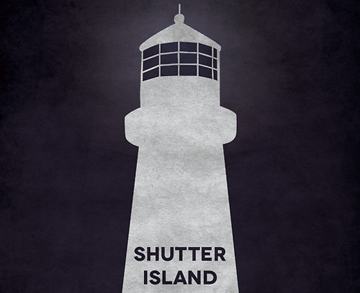 Shutter Island by Kenzo Giunto<br /> http://minimalmovieposters.tumblr.com/post/26089530831/the-avengers-by-william-henry