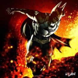 蝙蝠侠主题插画欣赏
