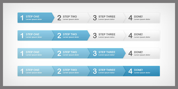 Step Process Panels<br /> http://duckfiles.com/step-process-panels-free-psd/