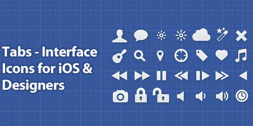 标签 - 适用于iOS的设计界面图标<br /> http://www.designdeck.co.uk/a/238