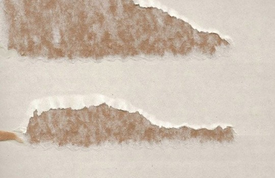 Dry & Wet Brown Corrugate Cardboard Texture<br /> http://www.123rf.com/photo_8043748_dry-and-wet-brown-corrugate-cardboard-texture-background.html